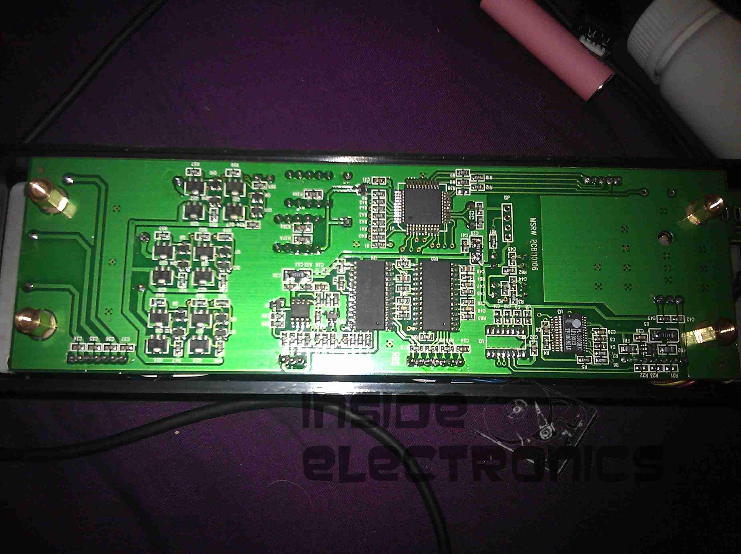 Msr605 3 Track Magnetic Stripe Writer Experimental Engineering Wiring Diagram Pcb Bottom