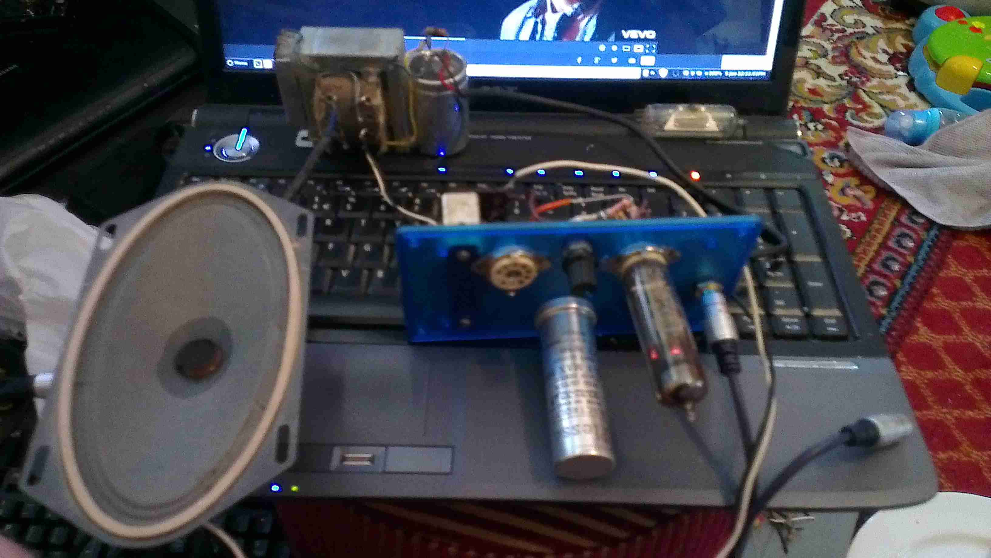 Amplifier Section First Test