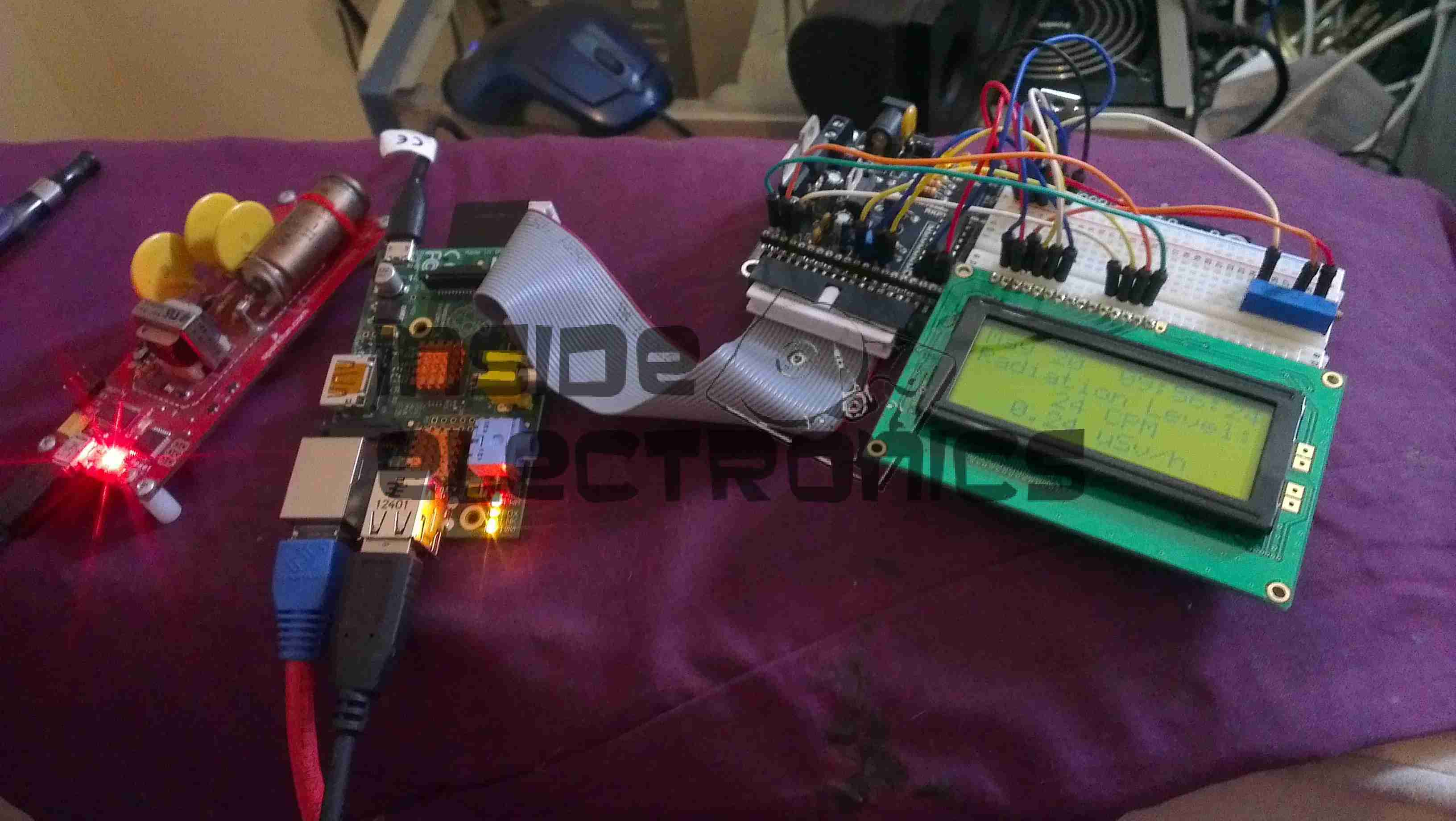 Character Lcd Archives Experimental Engineering Details About Printed Circuit Board Pcb Diy Arduino Geiger Counter Setup