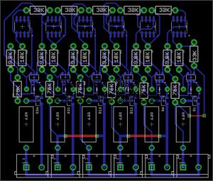 Ultracap Balancer PCB