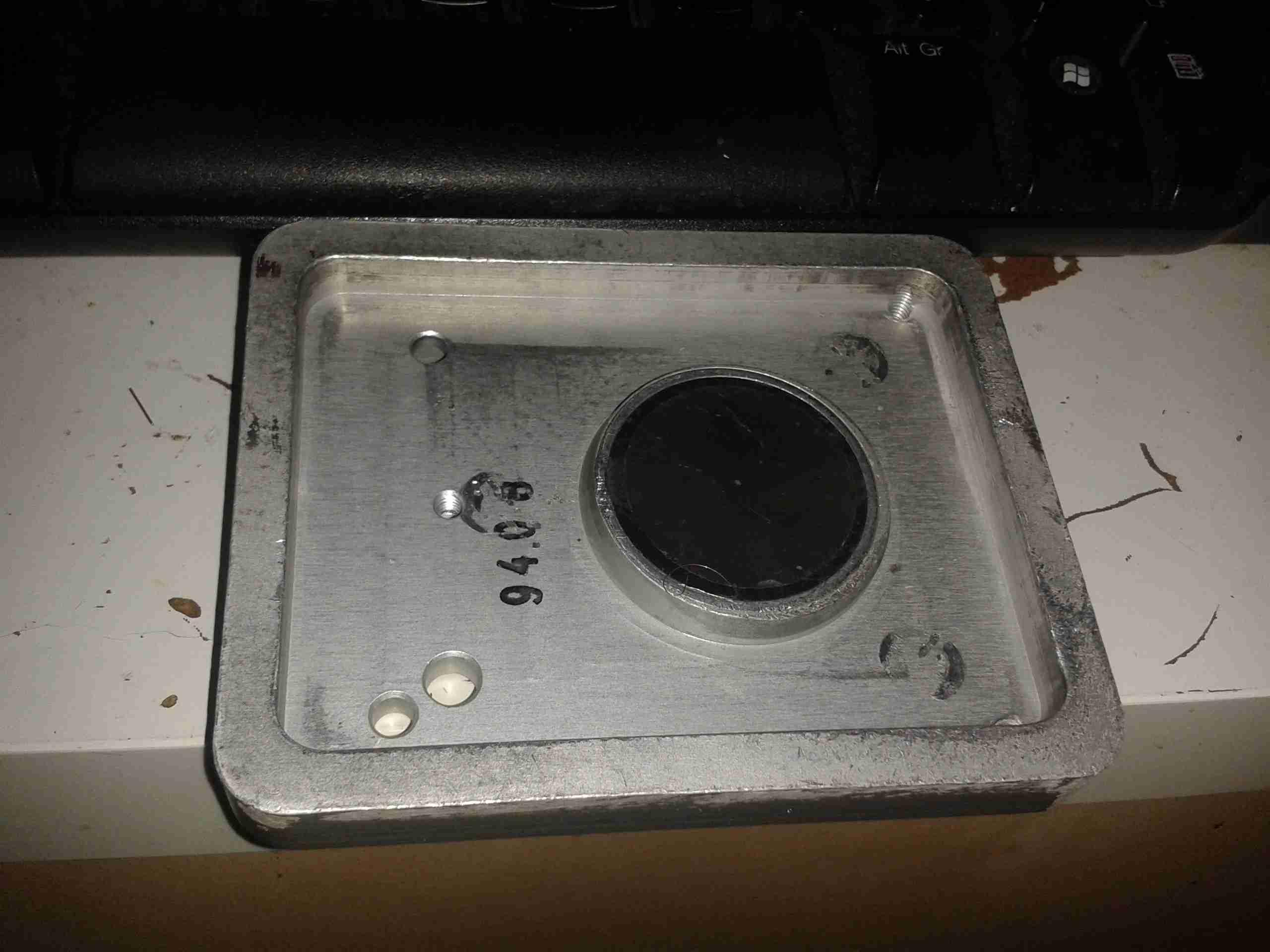 Aritech Vv602 Vault Vibration Sensor Experimental Engineering Seismic Mounting Plate