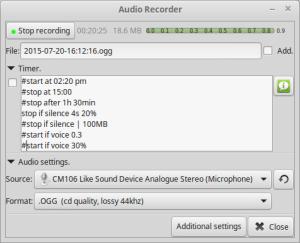 Recorder Screenshot