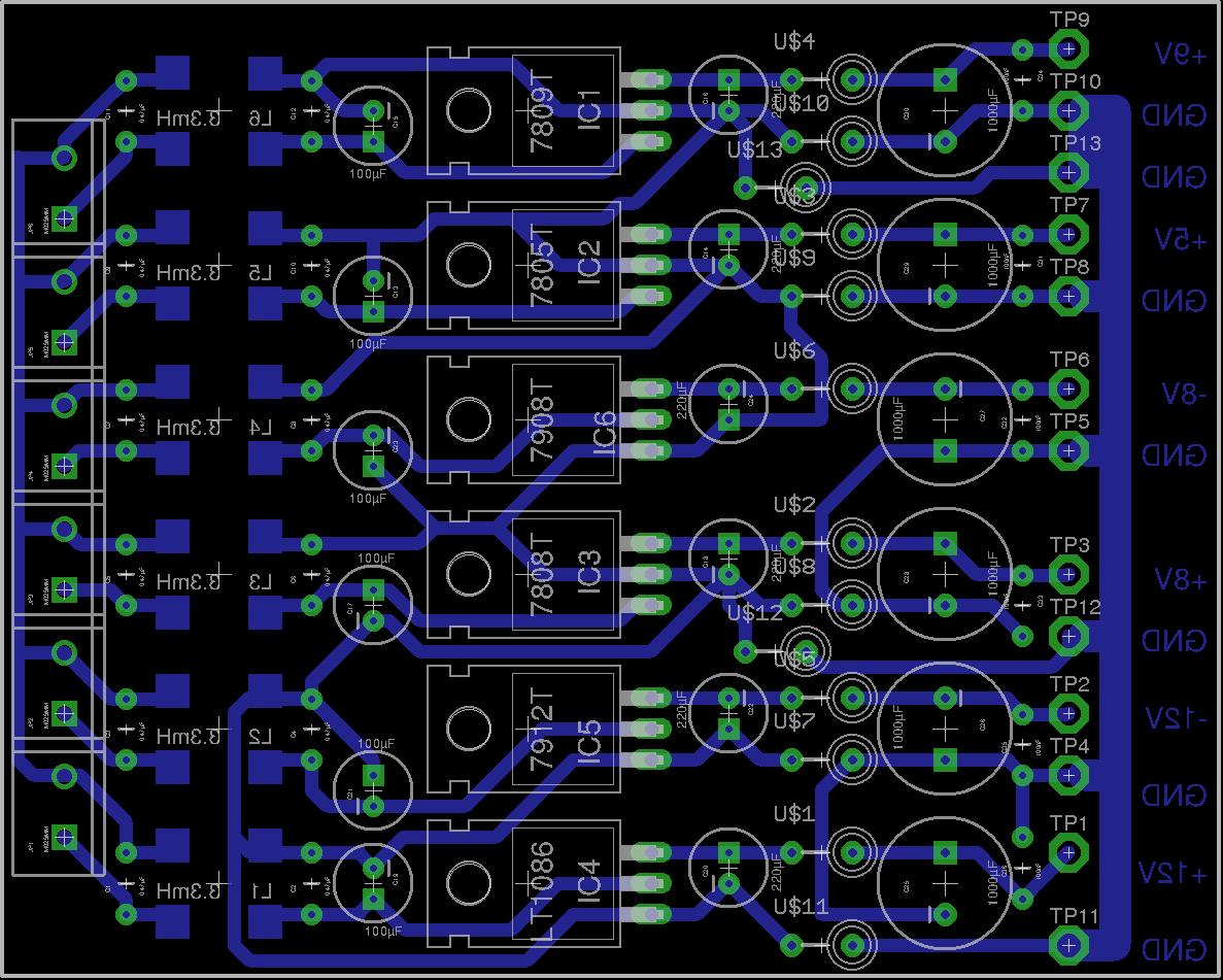 Rigol DS1054Z DC Power Supply - Linear Post Regulation