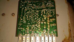 ECU PCB Solder Side
