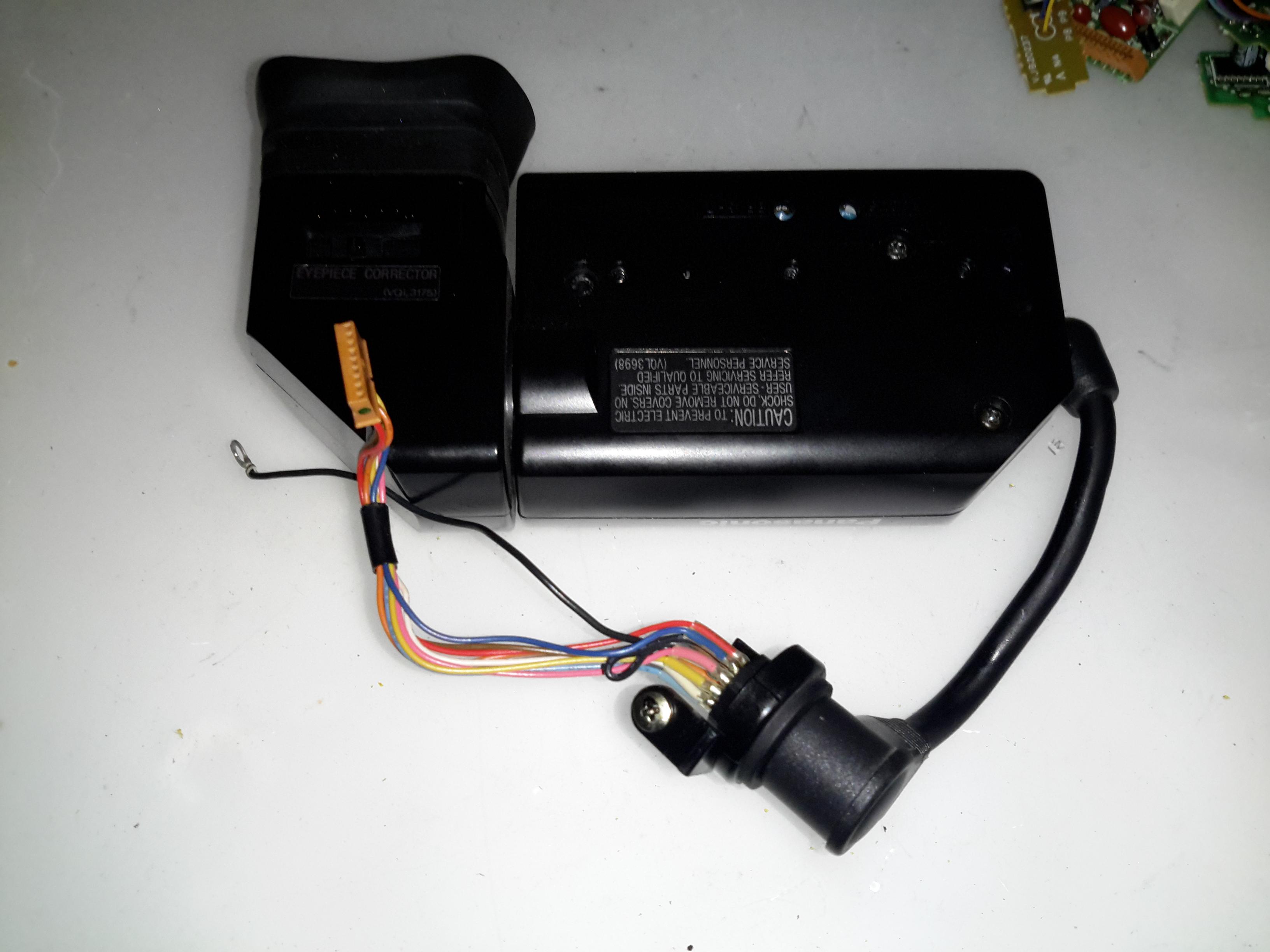 Panasonic NV-M5 VHS Camcorder Teardown - Experimental