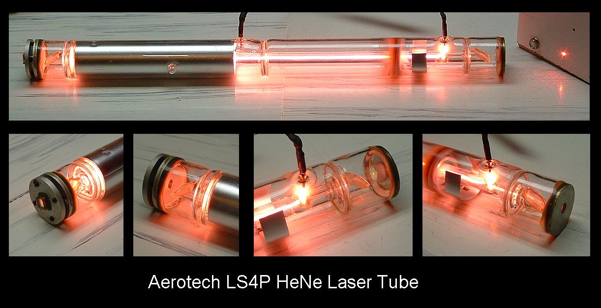 Aerotech Ls4p He Ne Laser Tube Experimental Engineering