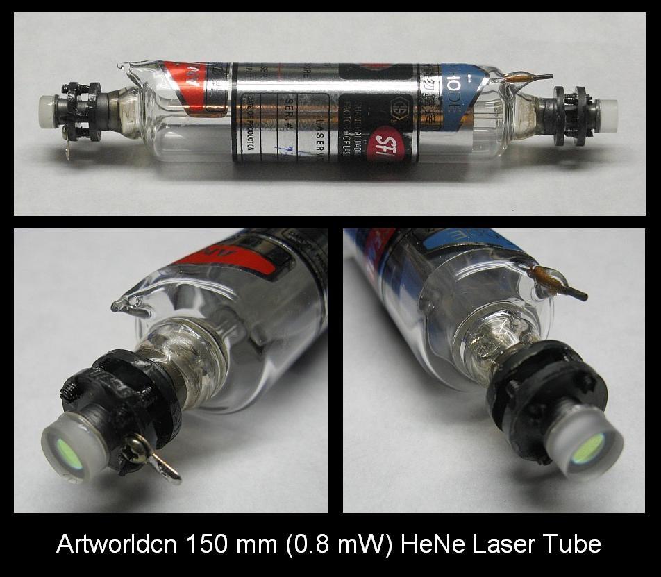 Artworldcn 150 mm He-Ne Laser Tube