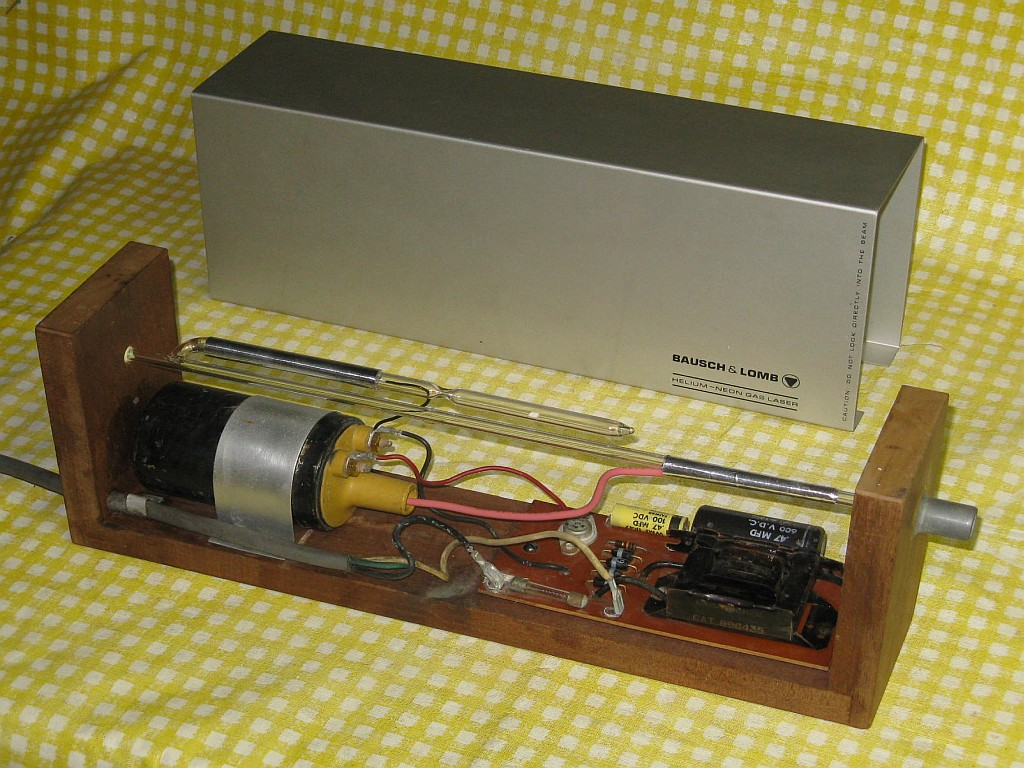 Bausch and Lomb He-Ne Laser