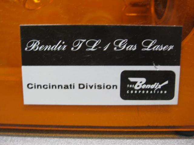 Closeup of Bendix JL-1 Label