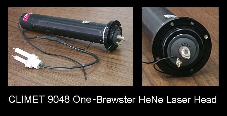 CLIMET 9048 One-Brewster He-Ne Laser Head