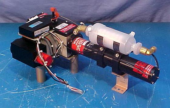 Climet Particle Counter Assembly - Front
