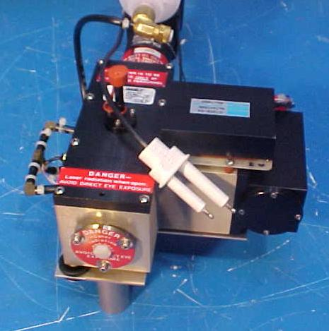 Climet Particle Counter Assembly - Rear