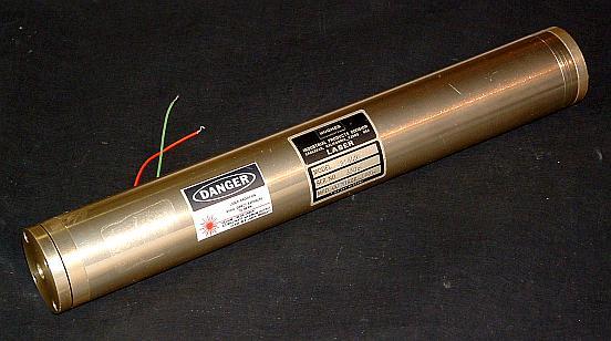 Hughes Model 3184H He-Ne Laser Head