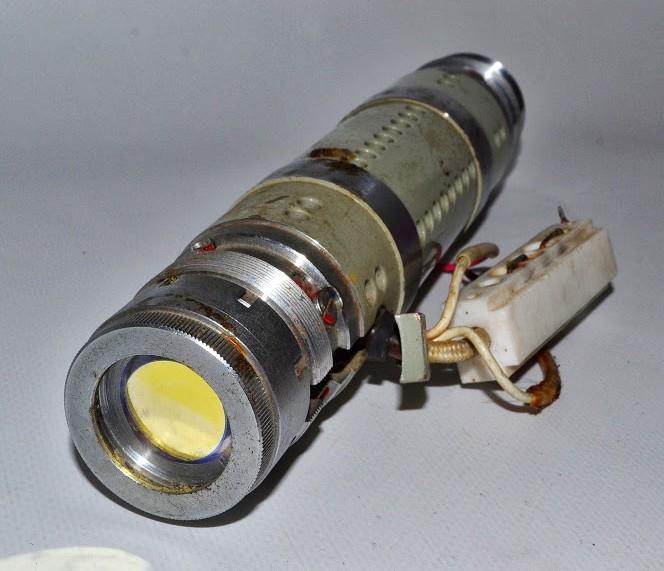 Back View of OKG-13 He-Ne Laser Head