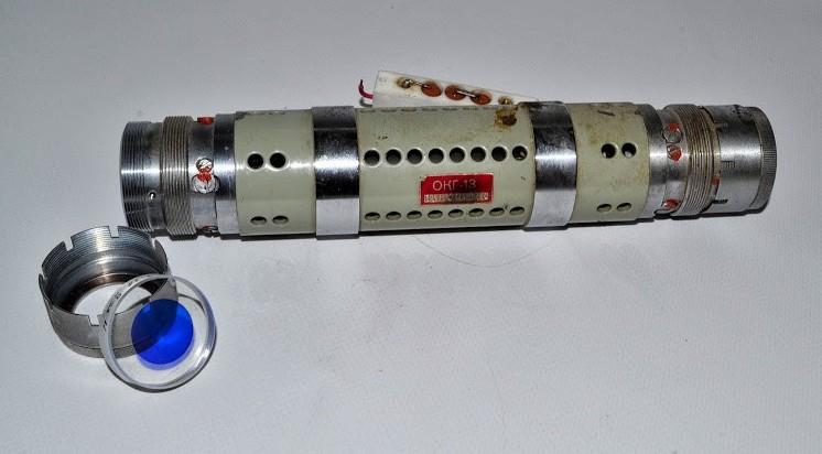 Left Side View of OKG-13 He-Ne Laser Head