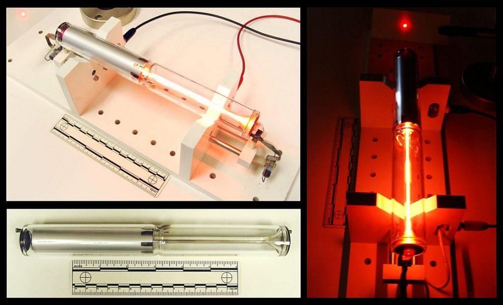 Photos of Spectra-Physics Model 084-1 He-Ne Laser Tube