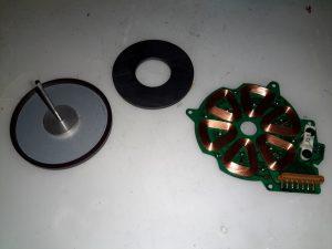 Capstan Motor Components