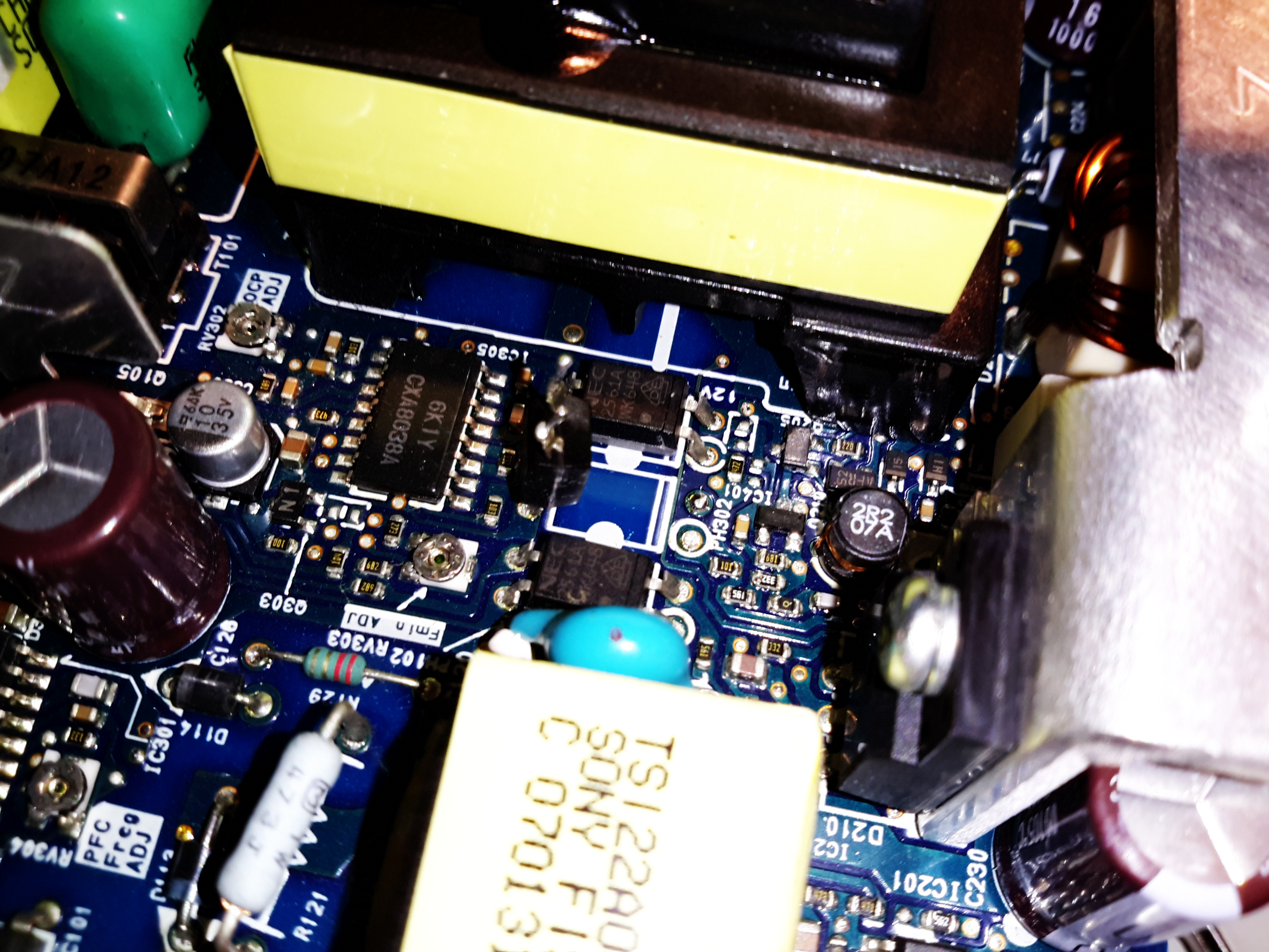 Sony Ps3 Aps 227 Power Supply Voltage Mod Experimental Engineering Ovp Wiring Diagram Optocoupler Disconnected