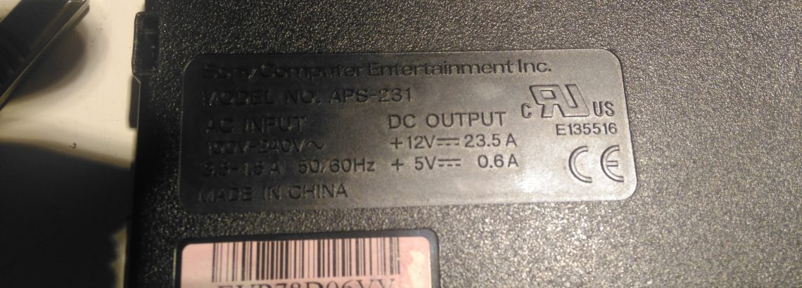 Sony PS3 APS-231 Power Supply Voltage Mod - Experimental Engineering