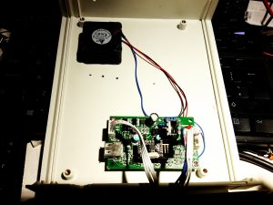 Power Meter Control Board & Fan