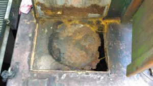 Severe Corrosion