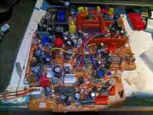 Vidicon Control Board